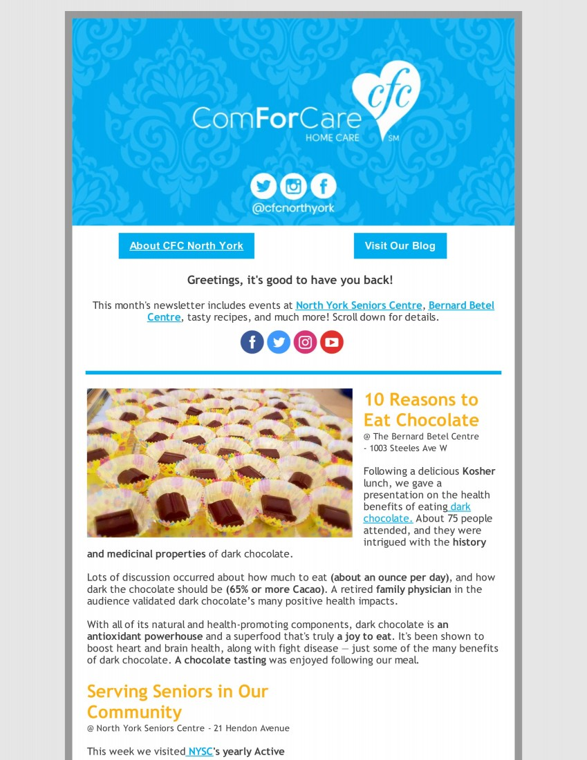 Events - North York, Ontario | ComForCare - alz1-min